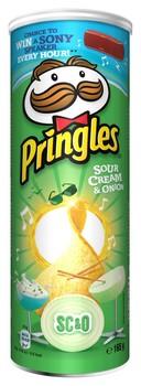 Uzkoda pikanta Pringles SourCream&Onion 165g