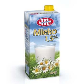 Piens Mlekovita 1.5% 1l
