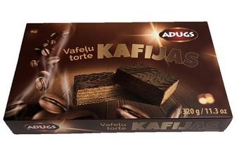 Vafeļu torte Kafijas 320g