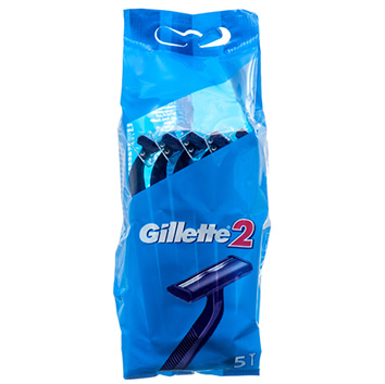 Skuvekļi Gillette2 vienr.liet.5gb