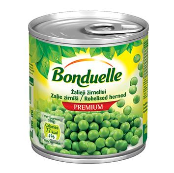 Zirņi zaļie Bonduelle bundža 200g/130g