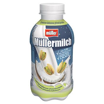 Piena dzēriens Mullermilch kokosriekstu-pistāciju 1.5% 400g
