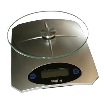 Svari virtuves digitālie 5kg balti