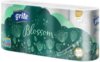 Tualetes papīrs Grite Blossom 3 slāņi 8 ruļļi