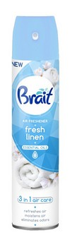 Gaisa atsvaidzinātājs 300ml Brait Fresh Linen