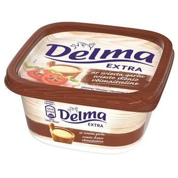 Margarīns Delma Extra ar sviesta garšu 400g