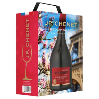 Vīns S.J.P.Chenet Rouge Medium Sweet 12% 3l