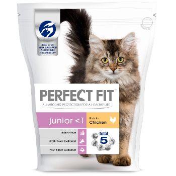 Barība kaķiem Perfect Fit kaķēniem ar cāļa gaļu 750g