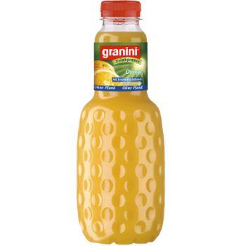 Sula Granini apelsīnu ar augļu gab.100% 1l