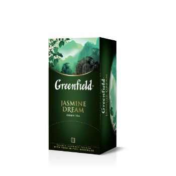 Tēja Greenfield zaļā Jasmine Dream 25gb 50g