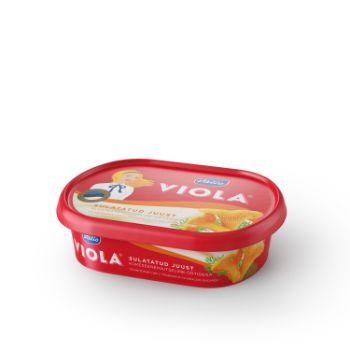 Kausētais siers ar zaļumiem un gaileņu garšu Viola 185g