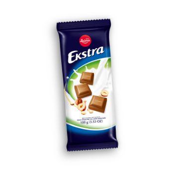 Šokolāde Ekstra ar riekstiem 100g