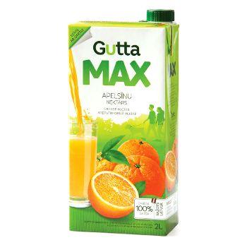 Nektārs Gutta MAX apelsīnu 2l