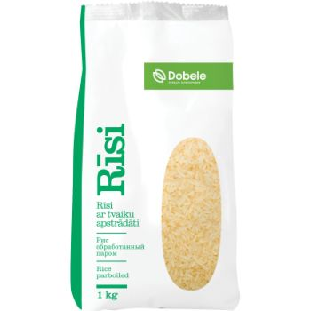 Rīsi Dobele ar tvaika apstrādi polipr.1kg
