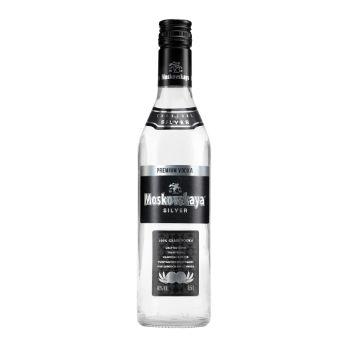 Degvīns Moskovskaja Silver 40% 0.5l