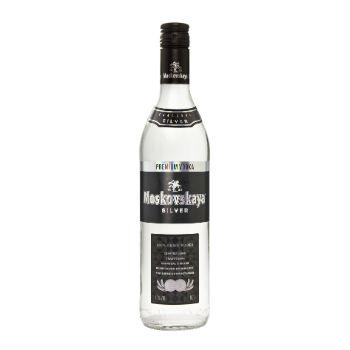 Degvīns Moskovskaja Silver 40% 0.7l