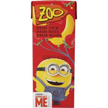 Sula Zoo Ice banānu-zemeņu 0.2l