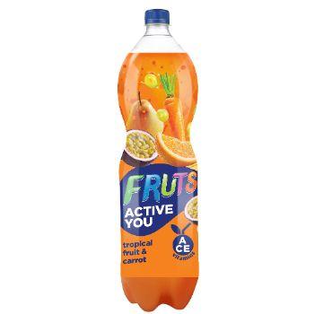 Dzēriens Fruts burkānu-tropisko augļu 1.5l