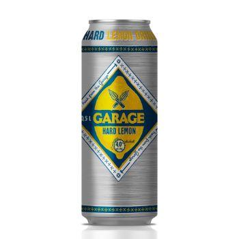 Alk.kokt. Garage hard lemon 4% 0.5l can