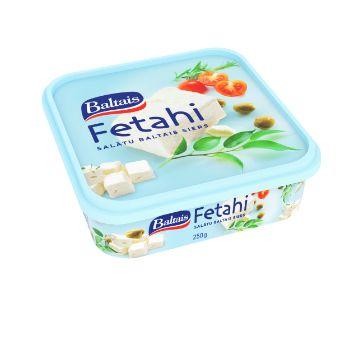 Siers salātu Fetaki Baltais 20% 250g