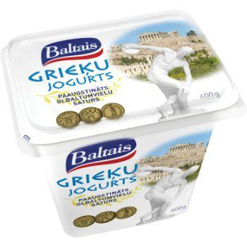 Jogurts Grieķu bez piedevām 2% 400g