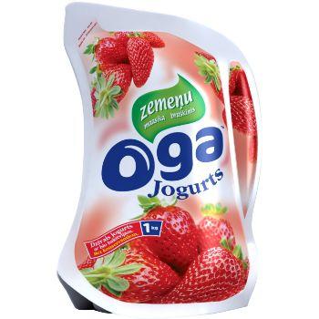 Jogurts OGA zemeņu 1kg