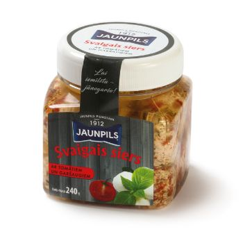 Siera bumbas ar tomātiem un garšaugiem Jaunpils 240g