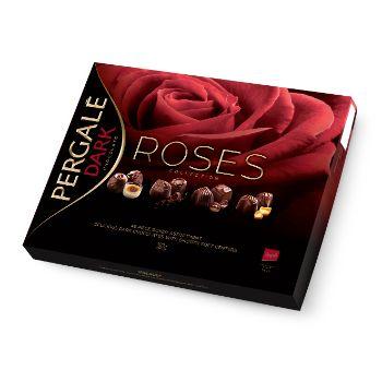 Konfekšu kārba Roses Pergale 382g