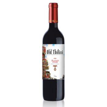 Vīns Old Tbilisi Alazani Red 12% 0.75l