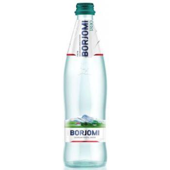 Minerālūdens Borjomi 0.5l stikls