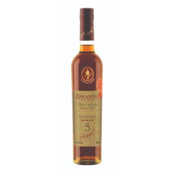 Brendijs Askaneli 5yo Brandy 40% 0.5l