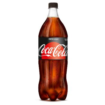 Limonāde Coca Cola Zero 1.5l
