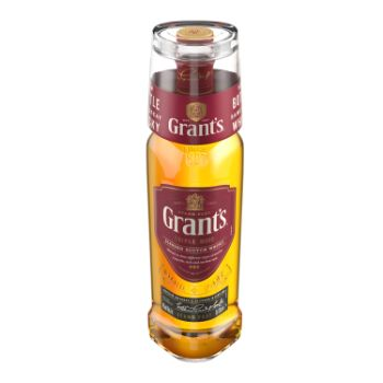 Viskijs Grants ar glāzi 40% 0.7l