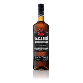 Rums Bacardi Carta Negra 40% 0.7l