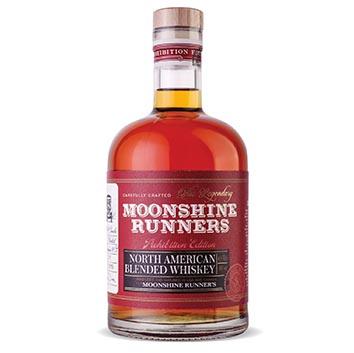 Viskijs Moonshine Runner Blended American 40% 0.7l