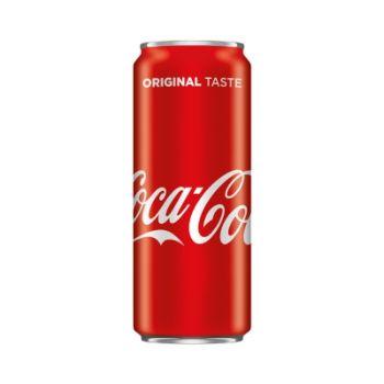 Limonāde Coca Cola 0.33l can