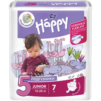 Autiņbiksītes Happy Junior 12-25kg 7gb