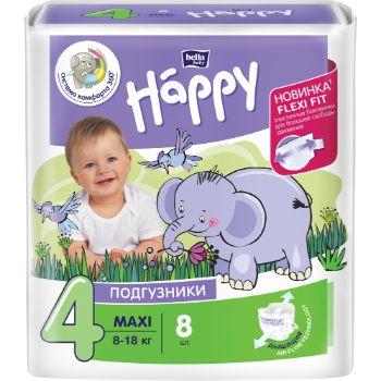 Autiņbiksītes Happy Maxi 8-18kg 8gb