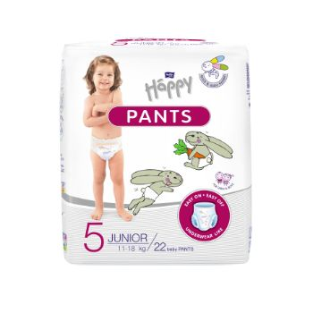 Autiņbiksītes Happy Pants Junior 11-18kg 22gb