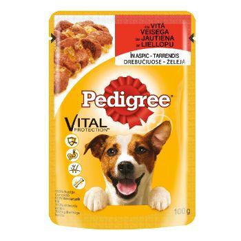 Barība suņiem Pedegree gaļa (maisiņš) 100g