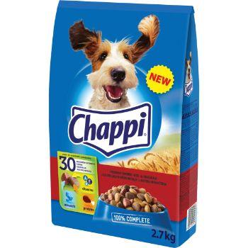 Barība suņiem Chappi ar liellopu un mājputnu gaļu 2