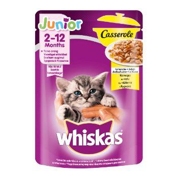 Barība kaķēniem Whiskas ar vistas gaļu 85g