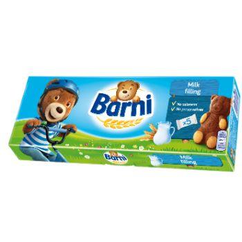 Cepumi Barni ar piena pildījumu 150g