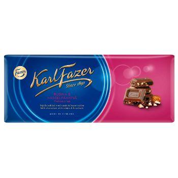 Šokolāde Fazer ar riekstiem un rozīnēm 200g
