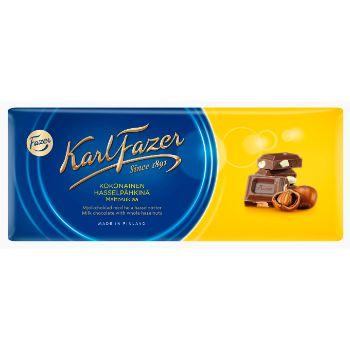 Šokolāde Fazer ar veseliem riekstiem 200g