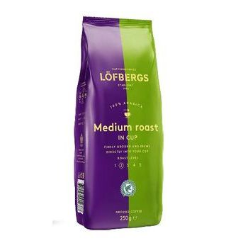 Kafija malta Lofbergs Medium Roast in-cup 250g