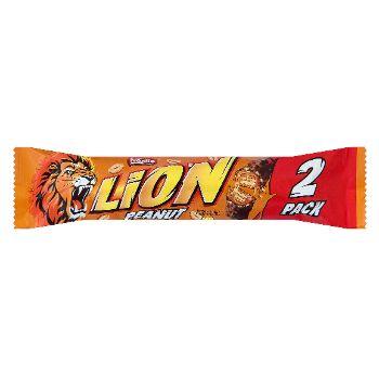 Šokolādes batoniņš Lion Peanut 2Pack 62g