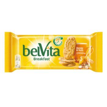 Cepumi Belvita riekstu&medus 50g