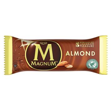 Saldējums Magnum Almond 120ml/86g