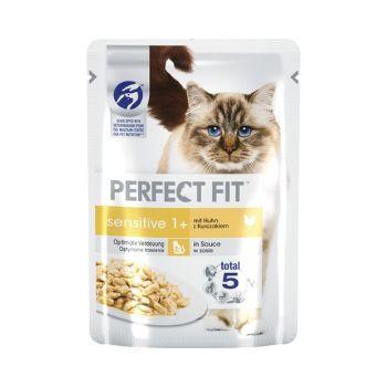 Barība kaķiem Perfect Fit maigs cālis 85g